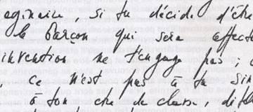 Grafia di Jean Paul Sartre